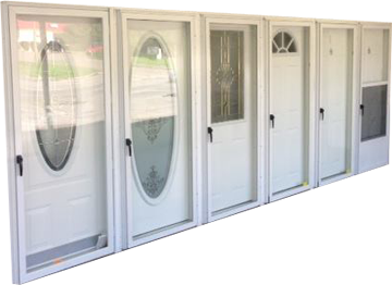 Exterior Combo Doors